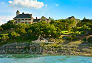 "Lake Travis - Picturesque Lake Travis ""Castle"" $8,500,000"