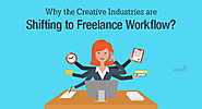 Why are creative industries shifting to freelance workflow?