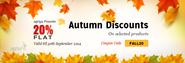 Agriya offers autumn discounts on selected products - Agriya