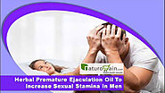 Herbal Premature Ejaculation Oil To Increase Sexual Stamina In Men