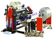 Slitter Rewinder Machine : (Slitting Rewinding Machine) - KEW MFG