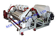 Heavy Duty Drum Type Slitter Rewinder Machine, KEW ENGG