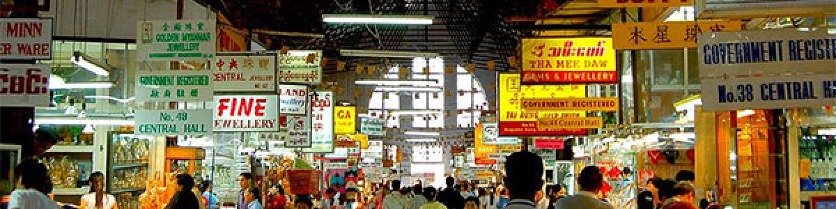 Headline for Places to go Shopping in Yangon – The Best Markets and Malls not to be missed