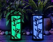 Solar Powered Hanging Lanterns | Lab38.com