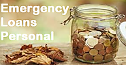 Emergency Loans Personal - Quick Monetary Support To Rely On During Financial Emergency!