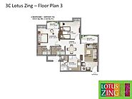 3C Lotus Zing Noida – Luxury 1/2/3 BHK Flats