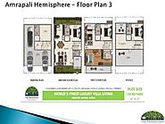 Amrapali Hemisphere – 3/4BHK Villa in Greater Noida