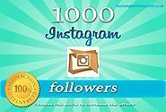 Buy Instagram Followers | Here you can Get 1000 Instagram followers or likes, reach out to your customers