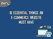 10 Essential Things an Ecommerce Website Must Have