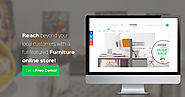 Furniture Ecommerce Website Software Platform - EWDC