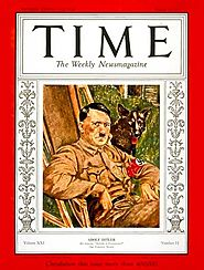 Hitler was Time Magazine's Man of the Year in 1938