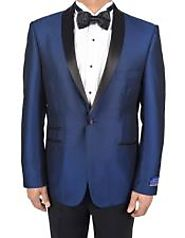 Get A Distinct Look With Navy Dinner Jacket
