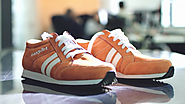 An Airline Made Sneakers That Vibrate to Lead You Around Cities You're Visiting