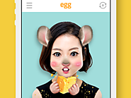 Line Launches egg Selfie App on iOS, Android