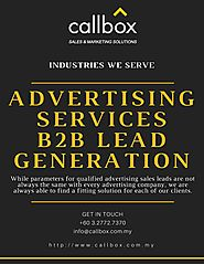 Advertising Services B2B Lead Generation