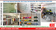 Wall Fittings Display Rack manufacturers in india