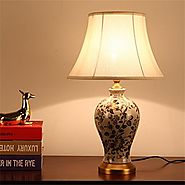 Classic Table Lamps- Perfect Source Of Lighting For Your Bedroom
