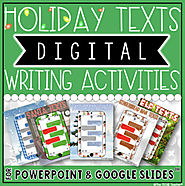 HOLIDAY DIGITAL WRITING ACTIVITIES BUNDLE by The Techie Teacher | TpT