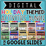DIGITAL HOLIDAY THEMED ACTIVITIES IN GOOGLE SLIDES™ BUNDLE | TpT