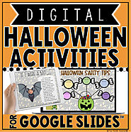 DIGITAL HALLOWEEN ACTIVITIES IN GOOGLE SLIDES™ by The Techie Teacher