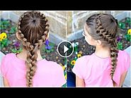 Dutch Starburst Braid | Cute Girls Hairstyles