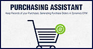 Purchasing Assistant Plugin, A Complete Purchase Solution!