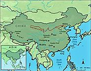 Image showing how large the Great Wall of China is.