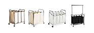 Best Heavy Duty Laundry Sorter Cart - 3 Bag or 4 Bag Hampers