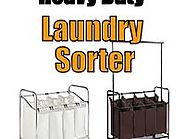 Heavy Duty Laundry Sorter Carts