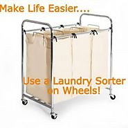 Best Heavy Duty Laundry Sorter Cart for the Money. LinkHubb