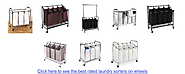 Affordable Heavy Duty Laundry Sorter Carts