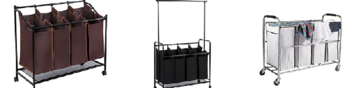 Headline for Top Rated Heavy Duty Laundry Sorter Carts on Wheels - Laundry Hamper Reviews