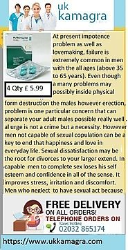 Kamagra ED pills simply for impotnece to be thought in an existence