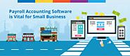 Payroll Accounting Software is Vital for Small Business | Nomisma Solution