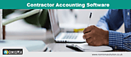 Contractor Accounting Software - Nomisma Solution