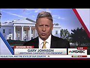 Gary Johnson-'How About Three Names' In The Polls [MSNBC]