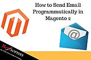 Send Email Programmatically in Magento 2