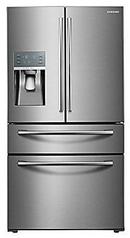 "Samsung Appliance RF28JBEDBSR 36"" Energy Star Rated Food Showcase French Door Refrigerator in Stainless Steel"