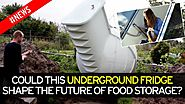 £5,800 underground fridge could be the next big thing in food storage