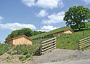 Valley View Retreats near Llanidloes in Powys, Mid Wales