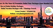 Group - Dubai Tour Packages Dhamaka With Viceroy By Fly Dubai