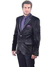 Enticing Velvet Jacket For Mens- MensItaly