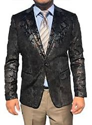 Best Fashionable Sequin Blazer For Men