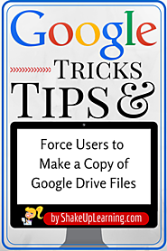 Force Users to Make a Copy of a Google Doc!