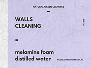 Walls Cleaning
