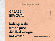 Grease Removal