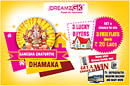 Dreamz Infra Ganesh Chaturthi Occasion Day Special Offer