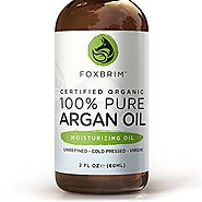 FOXBRIM Organic Argan Oil for Hair