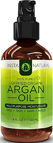 InstaNatural Pure & Organic Argan Oil of Morocco
