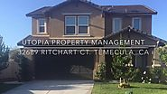 Temecula Property Management - 32689 Ritchart Ct., Home for rent